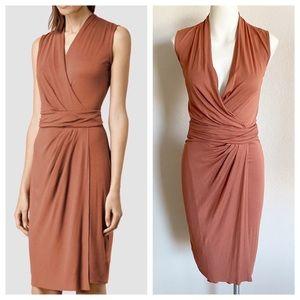 All Saints Novi Wrap Dress Size 0